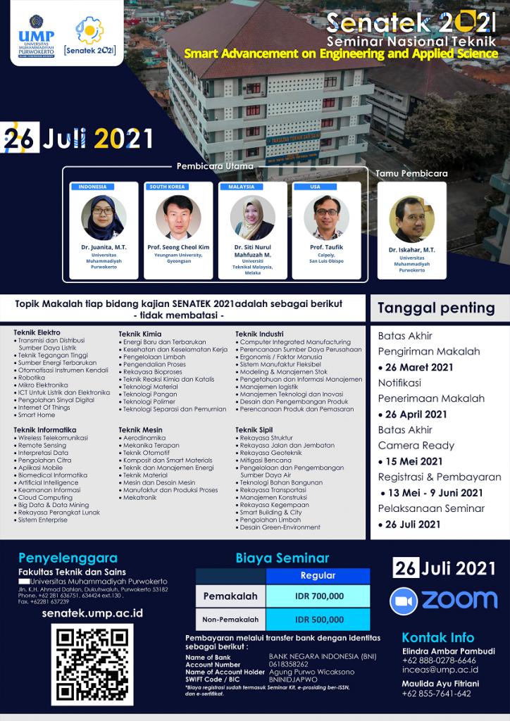 Senatek 2021